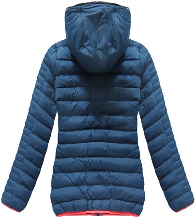 SHORT QUILTED JACKET BLUE (CX177W)
