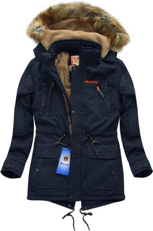 ME.ANAPURNA WINTER JACKET NAVY BLUE (701AL)