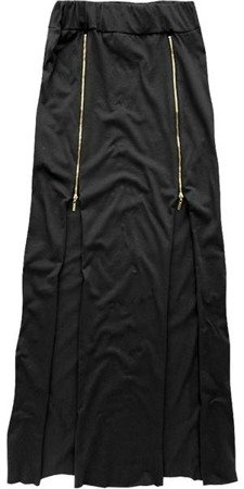 ZIP DETAIL SKIRT BLACK (SP33)