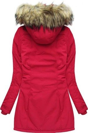 HOODED WINTER JACKET RED