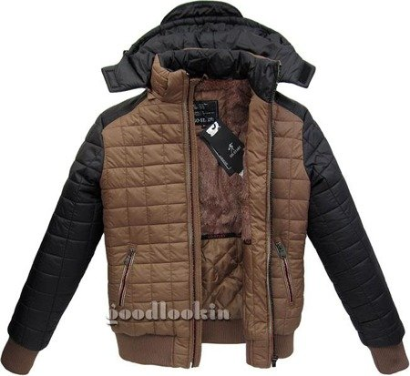 WINTER JACKET GO-START CARAMEL (22172M)