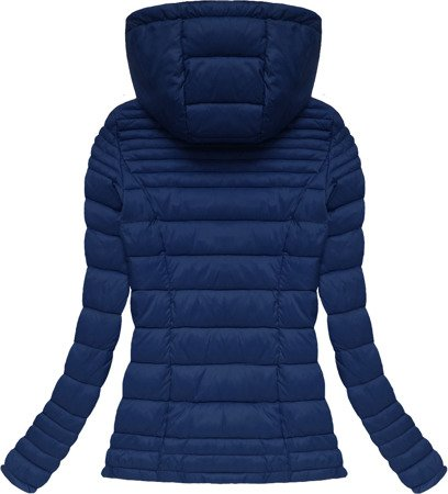QUILTED JACKET NAVY BLUE (7116)