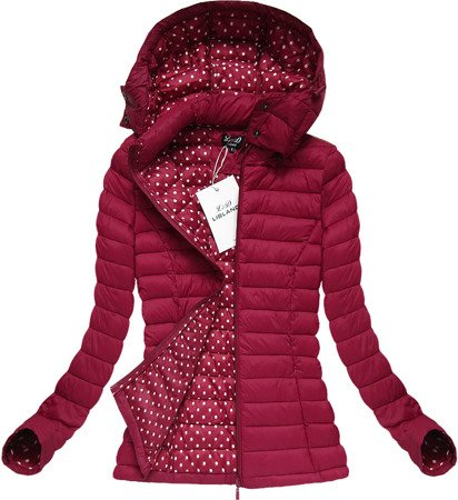 QUILTED JACKET WINE (7112BIG)