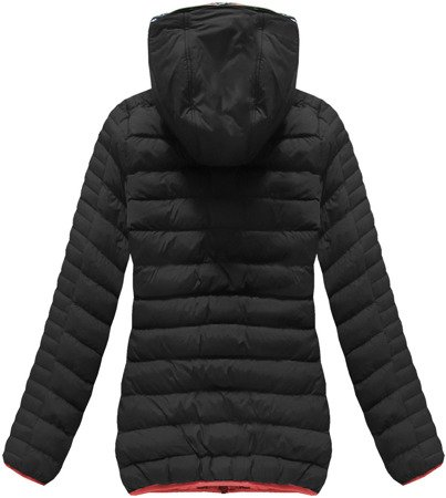 SHORT QUILTED JACKET BLACK (CX177W)