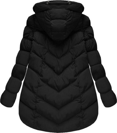 SHORT HOODED JACKET BLACK (W805)