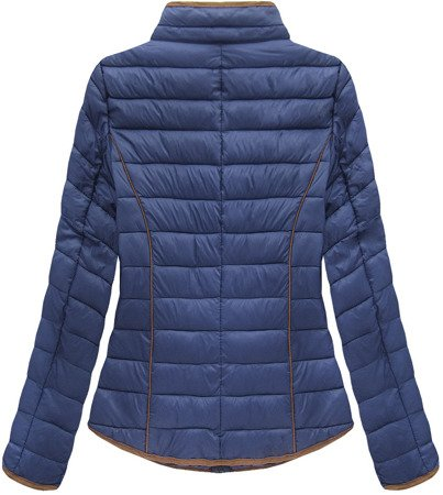 QUILTED JACKET NAVY BLUE (LD-7088)