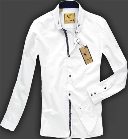 SLIM FIT SHIRT WHITE (SED-72)