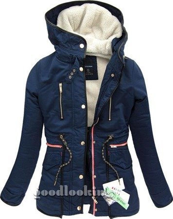 WINTER PARKA GO-START NAVY BLUE (CK21W)