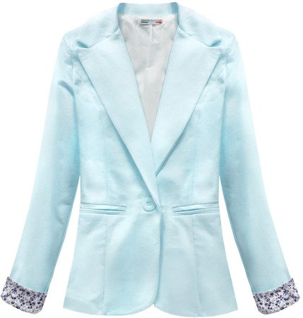 COTTON JACKET BABY BLUE (6097)
