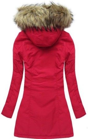 HOODED JACKET RED (7632)